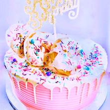 Custom Chocolate Silk Cake