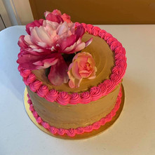 Caramel Bliss Birthday Cake