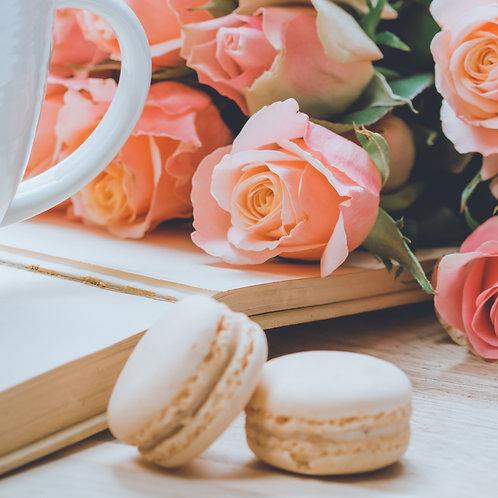 Vivacious Vanilla French Macaron