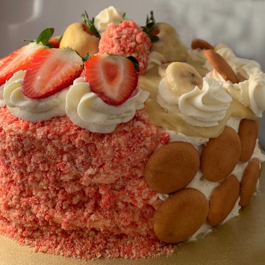 Dual-Flavored Cake