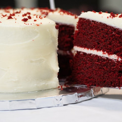 Red Royalty (Red Velvet) cake