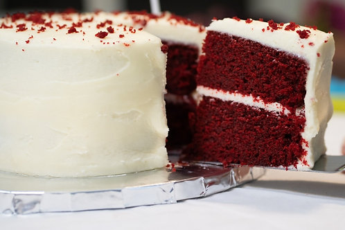 Red Royalty Cake Slice