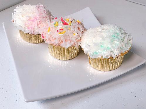 Creme de Coconut Cupcake