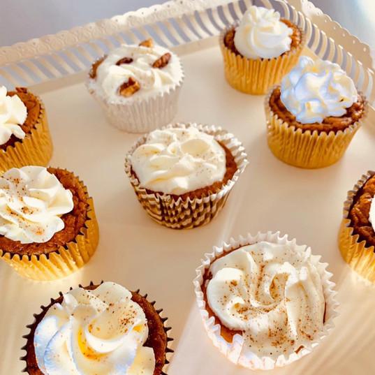 Sweet Potato Spice Cupcakes