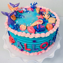 Butter Lovers Mermaid-inspired cake