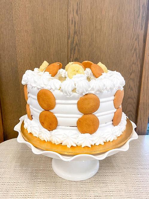 Nana's Banana Puddin' Cake