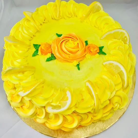 Citrus Smile Cake