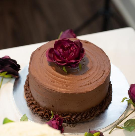 Chocolate Silk Cake