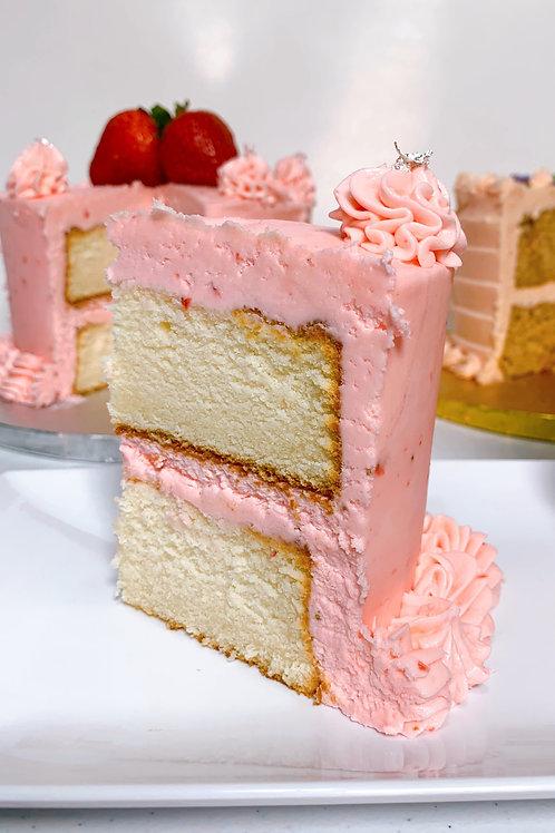 Vanilla Velvet Cake Slices