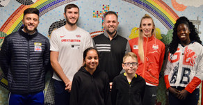 Team GB - Athletes Visit