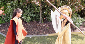 Year 5 Class Assembly: Giant Slayer