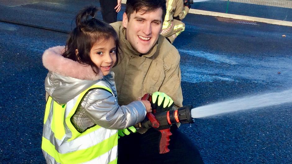 Nursery Visit The Fire Station