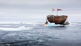 Maud er ankommet Grønland