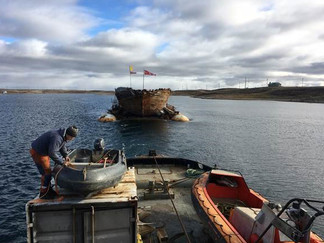 Maud har satt kurs mot Vollen               -men først via Grønland for overvintring
