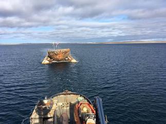 MAUD ser Norges kyst for første gang på 100 år