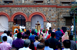 Fr. Monodeep Preaching