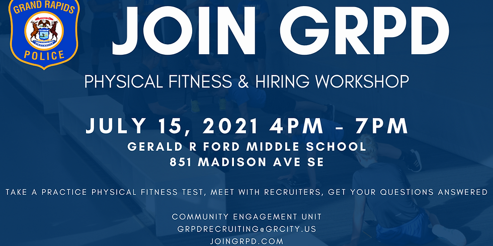 Physical Fitness and Hiring Workshop