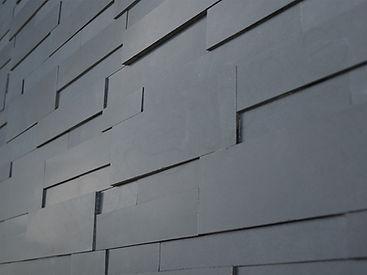 Norstone Aksent 3D Ebony basalt detail.j