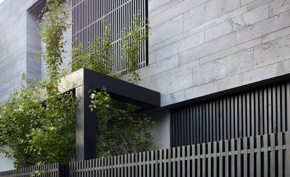 Planc Platinum Lavastone - fasáda