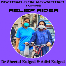 Mother and Daughter turns to be Relief Rider