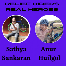 Real Heroes behind The Relief Riders Team