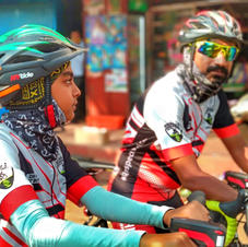 Father and Son turns to be Relief Riders