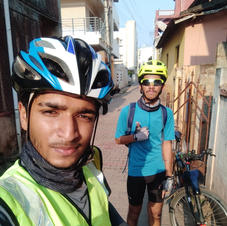 Engineer and Medical Students turns Relief Riders