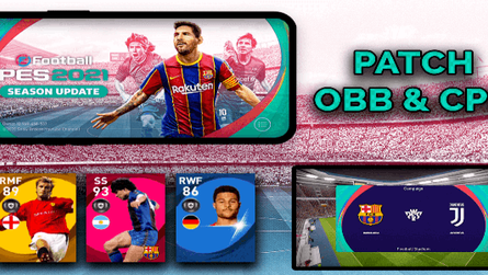 Pes 2021 Patch(OBB) For Pes 2020 Mobile by Snow Broken