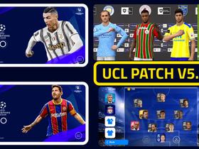 UCL Patch For PES 2021 Mobile (v5.0.0) by Snow Broken