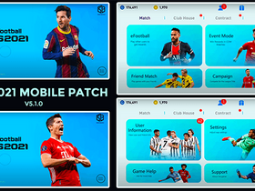 PES 2021 Mobile Snow Patch (v5.1.0) by Snow Broken
