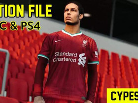 Pes 2021 Cypes 2.0 Option File For PC & PS4
