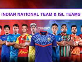 ISL 2020/21 Patch for Pes 17 | Indian National Team | by Snow Broken