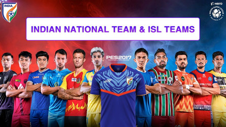ISL 2020/21 Patch for Pes 17   Indian National Team   by Snow Broken