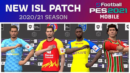 ISL 2020/21 Patch for PES 2021 Mobile (v5.0.1) by Snow Broken