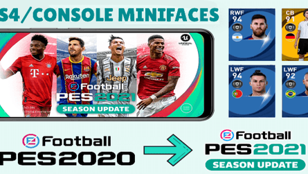 Pes 2021 Cpk Patch for Pes 2020 Mobile by Snow Broken