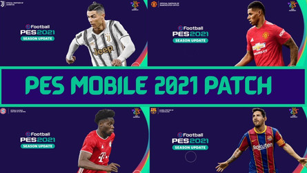 Pes 2021 Patch for Pes Mobile (v4.6.2) by Snow Broken