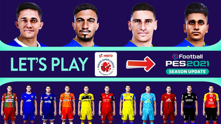 INDIAN SUPER LEAGUE (2020/21) PATCH FOR PES 2021 BY SNOW BROKEN