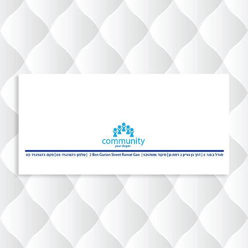 מעטפות 23/11 Community