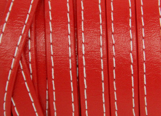 FOLDED STICHED STRIP Red