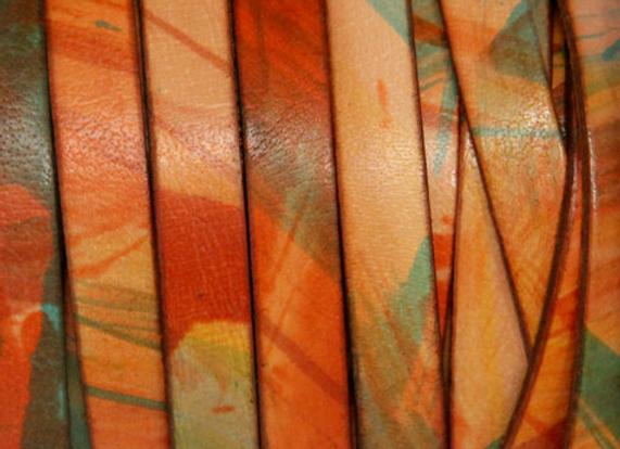 FLAT MOLDED COW Multicolor Orange