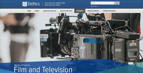 DePaul University - Web Content Editing
