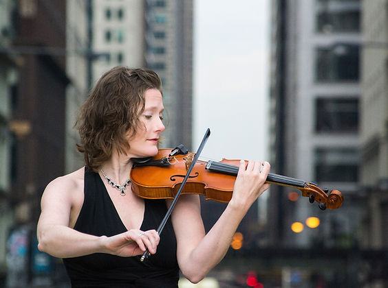 Elise Dalleska violinist and teacher in Chicago