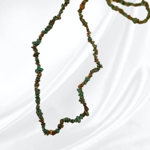 Turquoise chip single strand NeckArt