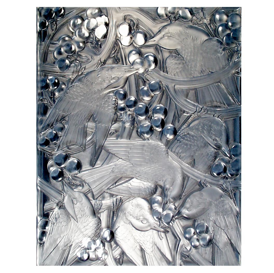 Custom Cast Glass Panel
