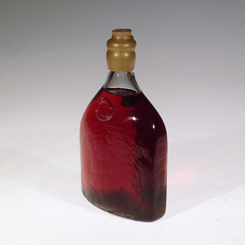 "DuGrenier Maple Syrup in a Hand-Blown Glass ""Flask"" Bottle"