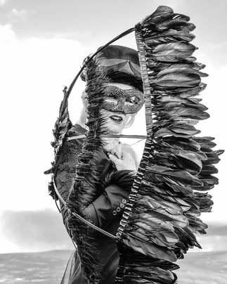 Black Fairy  Photography/MUA/Costume by