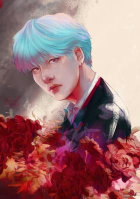 [ SUGA rose ] ©2019