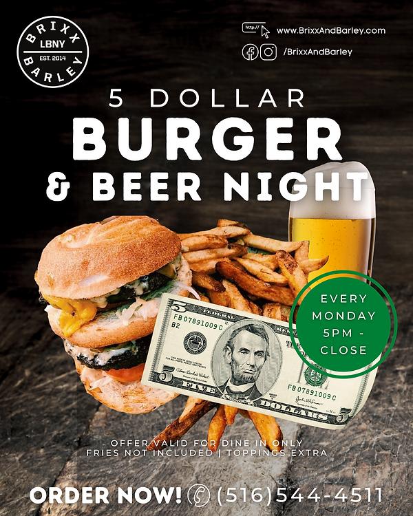 $5 Burger & Beer Night 2020.png