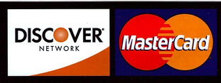 Discover and MasterCard
