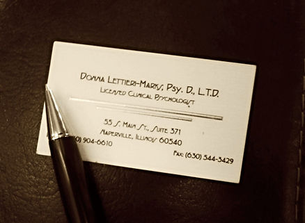 Dr. Donna Lettieri-Marks Business Card